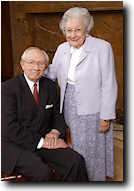 President and Sister Hinckley